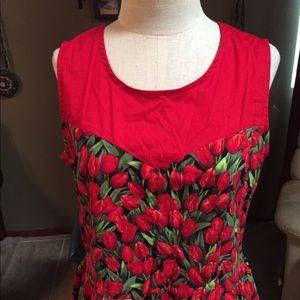 Modcloth Retrolicious Spring Dress